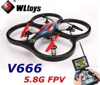 کواد کوپتر FPV با قابلیت ارسال تصویر WL-V666