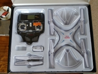 کواد کوپتر syma x5sc با دوربین فوق العاده با کیفیت