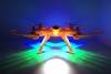 کواد کوپتر lh-x14 مانیتور دار با قابلیت ارسال تصویر همزمان