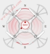 کواد کوپتر SYMA-X5UC محصول 2017 کمپانی SYMA   آرسی تک