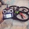 کواد کوپتر با قابلیت نصب دوربین v262